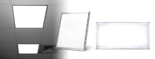 LED Panel Lights replace fluorescent tubes in large spaces.