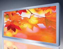 High-Brightness 12.1 in. TFT LCD draws 12 W of power.