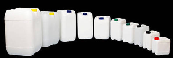 Recyclable Containers handle corrosive liquid chemicals.