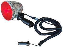 HID Camouflage Spotlight produces 15 million candlepower output.