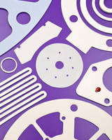 PTFE Gaskets are die-cut to specification.