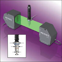 In-line 2D Optical Micrometer offers multi-point measurement.