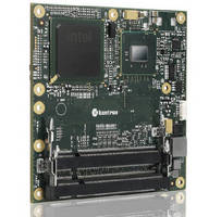 COM Express® Computer-on-Module operates from -40 to +85°C.