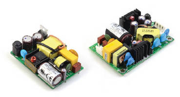 Medical Power Supplies range from 20-60 W.