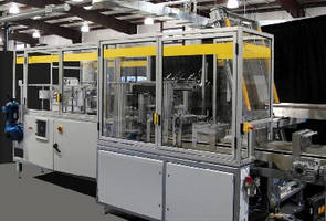 Wrap Around Case Packers use servo driven loader.