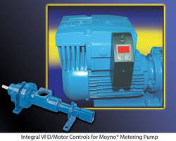 Enhanced Pumping Elements and Integral VFD/Motor Controls