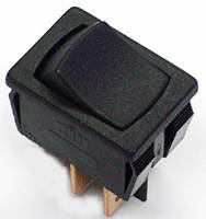 Miniature Rocker Power Switch features VDE approval.