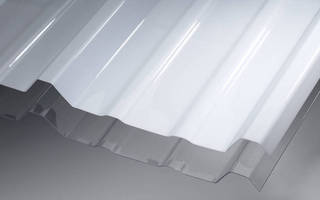 Corrugated Polycarbonate Panel is engineered for strength.