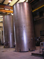 Storage Tanks, Pressure Vessels, Reactors, and Custom Fabrication