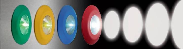 LED Hazard Warning Lights provide 180° visibility.