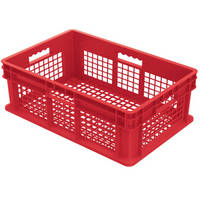 Straight Wall Containers Now Available In Red