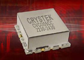 Voltage Controlled Oscillator operates from 2,230-2,240 MHz.
