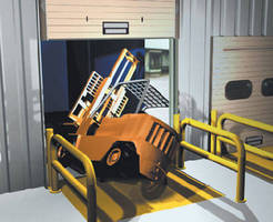 Loading Dock Safety System uses trapped key concept.
