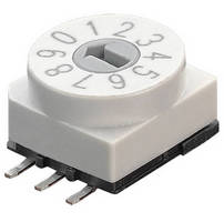 Rotary Code Switches withstand high-temperature soldering.