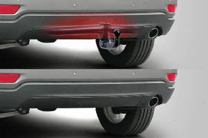Tow Hitch features hidden design that maintains OE look.