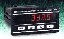 Panel Meter accepts 4-20 mA sensor inputs.