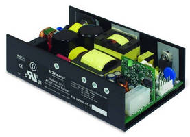 Low-Profile AC/DC Power Supply offers active PFC.