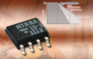 Thin Film Resistor Networks operate to 215°C.