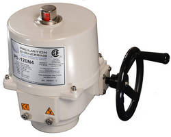 Quarter-Turn Electric Actuators suit rugged applications.