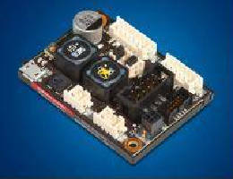 PWM Servo Controller supports DC motors up to 72 W.