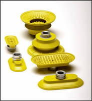 Bilsing Automation Expands Yellow Vacuum Cup Offering - Tread Pattern Offers Better Holding Capability