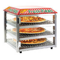 Pizza Merchandiser offers uniform temperature control.