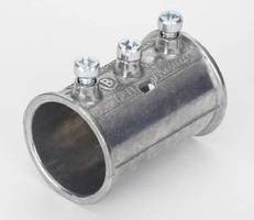 Slip Style Couplings allow EMT to be joined in tight locations.