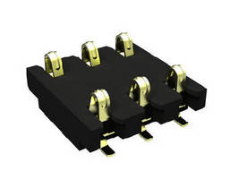 Board-to-Board Connector features scalable one-piece design.