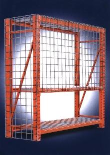 Pallet Rack Shield prevents spilled loads.