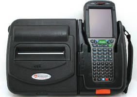 Portable Printer integrates with mobile handheld computer.