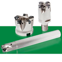 High-Feed Milling Inserts work on range of materials.