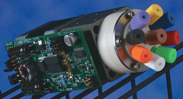 Motor/Valve Assembly can be built into OEM systems.
