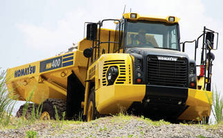 Articulated Dump Truck meets EPA, EU emissions requirements.
