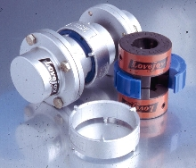 Elastomeric Couplings feature 347 cast stainless steel ring.