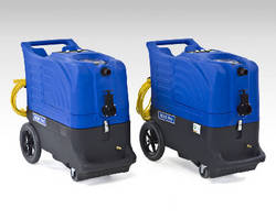 Portable Carpet Extractor delivers continuous 212°F heat.