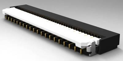 TE Connectivity Introduces 0.3mm Front Flip Lock FPC Connectors