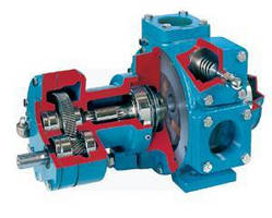 Sliding Vane Pumps handle solvents in paint/coating manufacture.