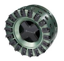 Cartridge Type Milling Cutter machines non-ferrous materials.