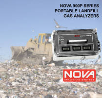 Landfill and Biogas Analyzers feature portable design.
