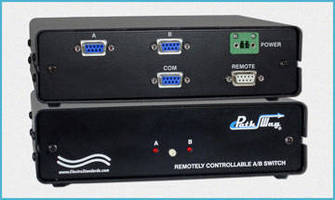 DB9 A/B Network Switch features serial remote control.