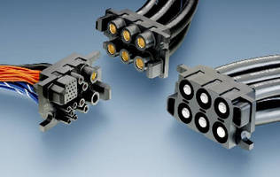 Power Drawer Connector suits applications up to 1,000 V.