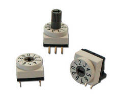 Rotary DIP Switch offers IP67 seal protection.