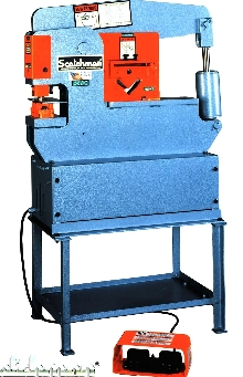 Ironworker is designed for in-plant or on-the-job operation.
