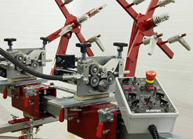 Mavrix Welding Automation Improves Dual Torch Hard Surfacing System