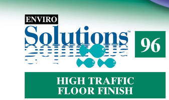 Enviro Solutions(TM) ES96 High-Traffic Floor Finish