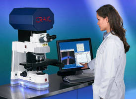 Microspectrophotometer supports kinetic spectroscopy.