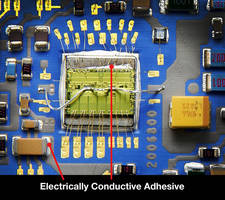 Electrically Conductive Adhesive is used with tin-terminated components.
