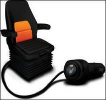 DIY Plug-In Seat Heater safely enhances operator comfort.