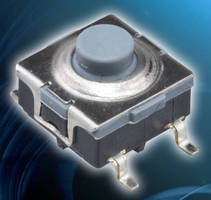 SMD Power Pushbutton Switch eliminates secondary processing.