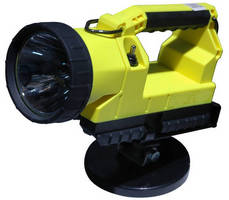 Rechargeable and Portable Light carries hazardous area rating.